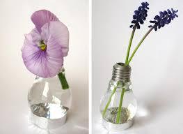 Flower Light Bulbs - diy light bulb vase magical daydream