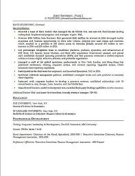 Resume Resources Examples by Financial Executive Resume Example
