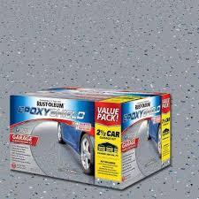 rust oleum epoxyshield garage floor paint exterior paint the