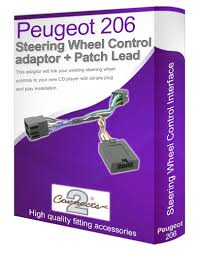 peugeot 206 car stereo lead adapter connect your amazon co uk