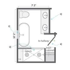 Flooring Ideas For Small Bathrooms by Best 25 Small Bathroom Floor Plans Ideas On Pinterest Small
