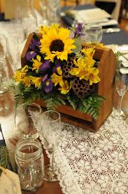 sunflower centerpieces sunflower centerpieces for wedding