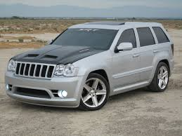 slammed jeep srt8 i want to see your lowered silver trucks cherokee srt8 forum