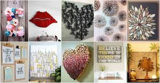 the images collection of beautiful diy home decor craft ideas wall