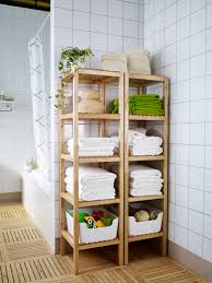 Ikea Bathroom Accessories Molger Shelf Unit Birch Bath Linens Bath Accessories And Linens