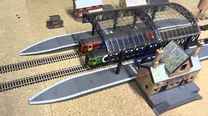 hornby layout takes shape in our loft hd youtube