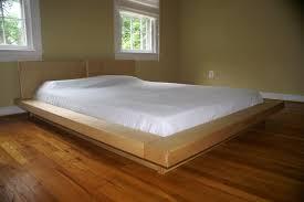 Wonderful Japanese Platform Bed Frames Space Saver Hardwood For - Japanese style bedroom furniture for sale