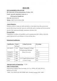 Career Objective In Resume For Experienced Software Engineer Cover Letter Best Career Objective For Resume Best Career