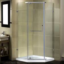 38 Shower Door Aston Semi Frameless 38 X 38 X 77 5 Neo Angle Pivot Shower