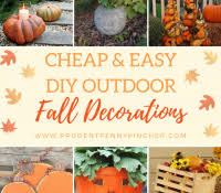 inexpensive fall decorating ideas thanksgiving porch front on