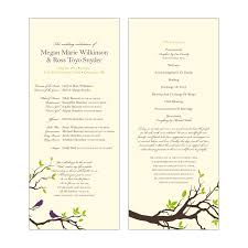 wedding program catholic milda s wedding program exle