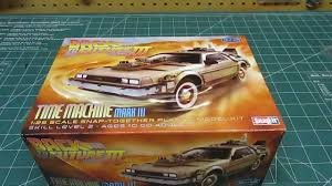 Polar Lights Models Polar Lights 1 25 Back To The Future Iii Time Machine Model Kit