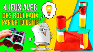 bricolage noel avec rouleau papier toilette diy jeux avec des rouleaux papier toilette des jouets