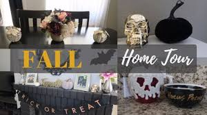 fall u0026 halloween home decor tour youtube