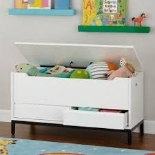 white toy box bench foter