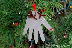 create your own treasured keepsakes with handprint ornaments