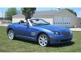 chrysler sports car 2005 chrysler crossfire for sale classiccars com cc 1030124