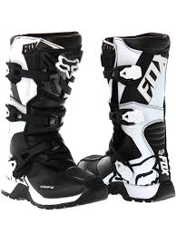motocross boots youth fox black 2018 comp 5y kids mx boot fox freestylextreme