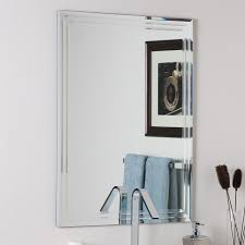 Delighful Framed Bathroom Mirrors  Ideas About And Inspiration - Plain bathroom mirrors