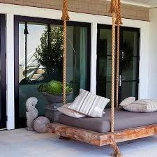 patio swing bed design ideas