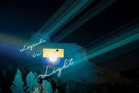 Light Show Crazy Horse Memorial Legends In Light Laser Showsouth Dakota
