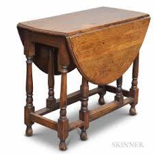 Drop Leaf Oak Table Search All Lots Skinner Auctioneers