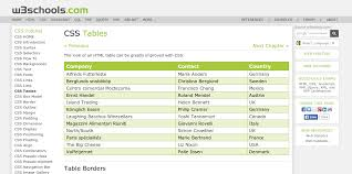 Css Table Border Color 5 Tutorials For Building Your Own Css3 Table Layouts