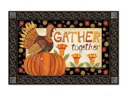 thanksgiving indoor outdoor doormats by matmates