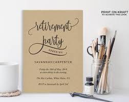 retirement party etsy