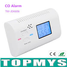 carbon monoxide detector alarm sensor without battery co detector