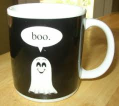 le chat noir boutique boo ghost halloween coffee mug misc