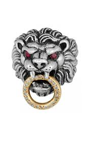 baby king rings images Mens lion ring diamond ruby lion head rings for men king baby jpg