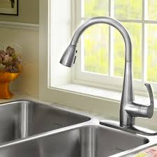 high arc kitchen faucet quince 1 handle pull high arc kitchen faucet standard