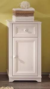kommode für badezimmer badezimmer unterschrank 1 türe landhaus lärche weiß