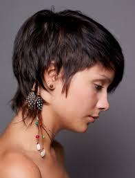 short haircut with ear showing straight cropped hairstyles very short haircuts for women