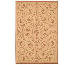 Qvc Outdoor Rugs Couristan Recife Veranda Indoor Outdoor 2 U0027 X 3 U00277