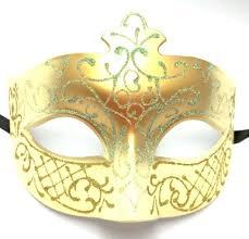 mardi gras masquerade gold fancy scroll venetian prom mardi gras masquerade mask
