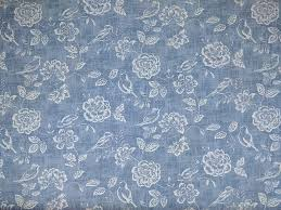 Denim Curtain Curtain Upholstery Iliv Bird Garden Denim Fabric