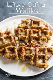thanksgiving leftover waffles recipe