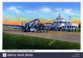 grand rapids mi airport kent county airport grand rapids michigan usa 1941 stock photo