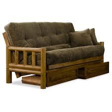 futon bc wonderful log futon amazon com mattress and frame lodge
