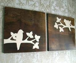 wall arts metal and wood abstract circle wall asian wood