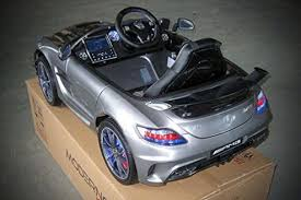 mercedes sls amg edition licensed mercedes sls amg edition 12v ride on car mp3