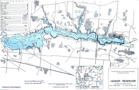 Franklin Ohio Map by Reservoir Fishing Map Central Ohio Fishing