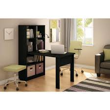 Home Depot Kids Work Bench South Shore Annexe 2 In 1 Piece Pure Black Office Suite 7270798