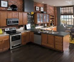 Maple Kitchen Cabinets Maple Wood Cabinets In Casual Kitchen Diamond