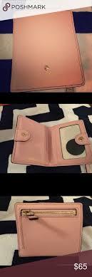 kate spade light pink wallet kate spade light pink wallet barely used lights bag and
