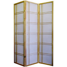 Panel Shoji Screen Room Divider - natural 3 panel shoji screen