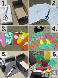 Garden Diy Crafts - kids fruit and vegetable craft
