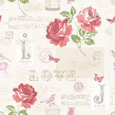 floral wallpaper love notes http www muriva com portfolios